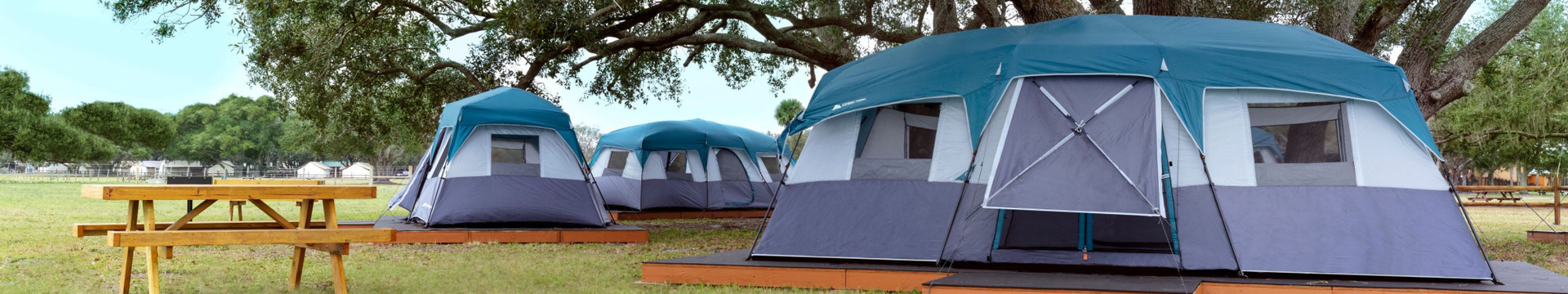 Camping tents - Westgate River Ranch
