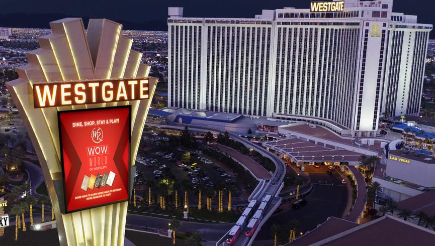 Aerial View of Westgate Las Vegas Resort  - Resort Operations Jobs