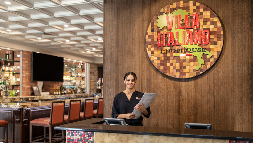 Hostess at Villa Italiano Restaurant - Food & Beverage Jobs - Westgate Resorts