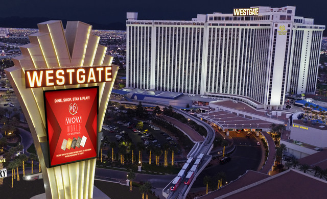 Aerial View Of Westgate Las Vegas Resort & Casino