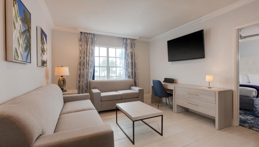 Bedroom in Westgate South Beach Resort - Housekeeping Jobs