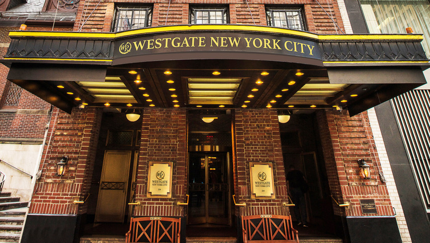 Exterior building of Westgate New York City