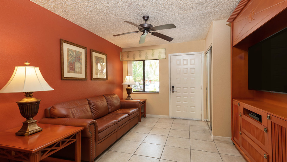 One-Bedroom Villa Living Area | Westgate Vacation Villas Resort | Orlando, FL | Westgate Resorts