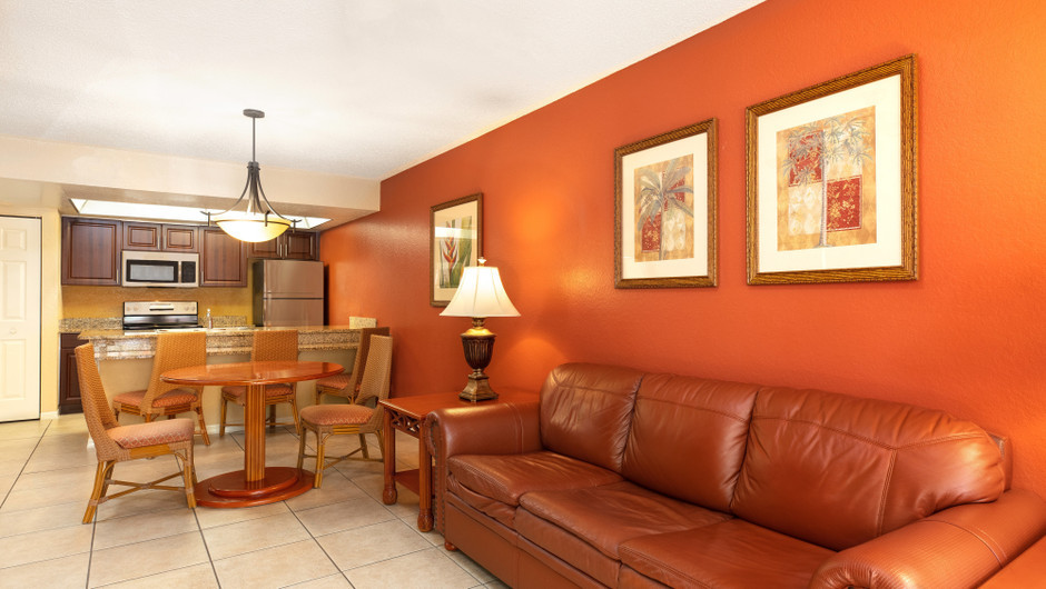 One-Bedroom Villa Dining and Kitchen Area | Westgate Vacation Villas Resort | Orlando, FL | Westgate Resorts