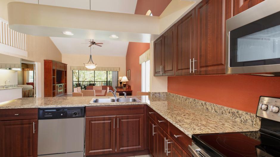 Kitchen/Dining Area | Two-Bedroom Villa with Loft | Westgate Vacation Villas Resort | Orlando, FL | Westgate Resorts