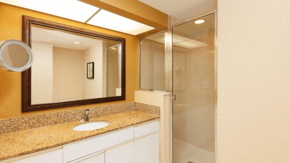 Bathroom in Studio Villa | Westgate Vacation Villas Resort  | Orlando, FL | Westgate Resorts