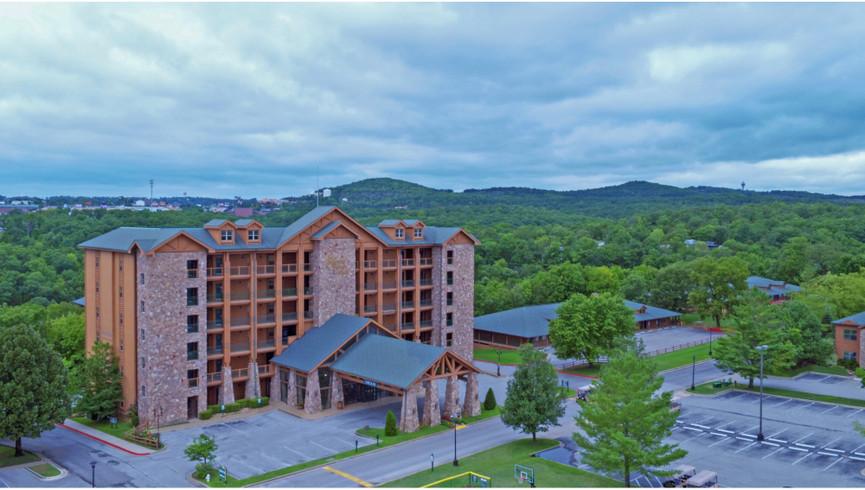 Aerial view of Westgate Branson Woods Resort