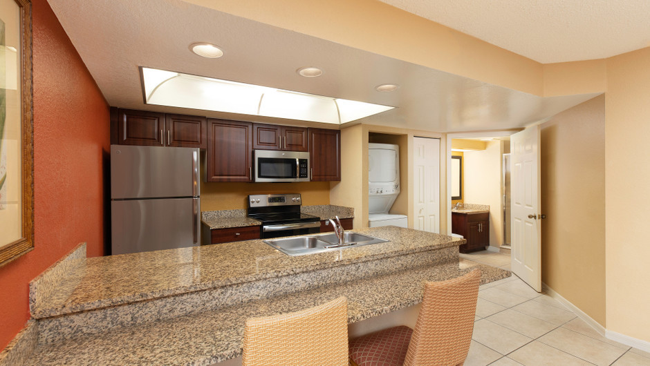 Two-Bedroom Deluxe Villa Kitchen | Westgate Vacation Villas Resort | Orlando, FL | Westgate Resorts
