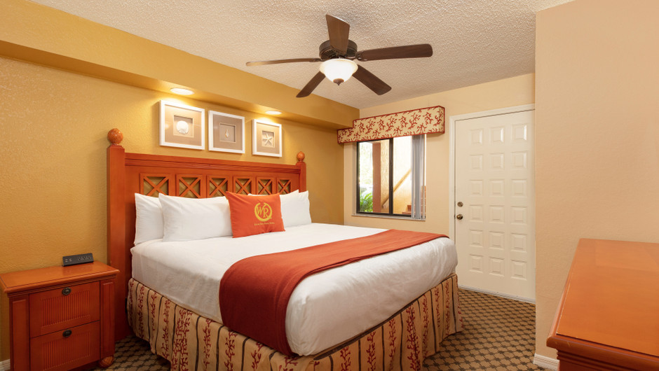 Two-Bedroom Deluxe Villa Bedroom | Westgate Vacation Villas Resort | Orlando, FL | Westgate Resorts