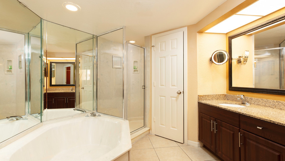 Two-Bedroom Deluxe Villa Bathroom | Westgate Vacation Villas Resort | Orlando, FL | Westgate Resorts