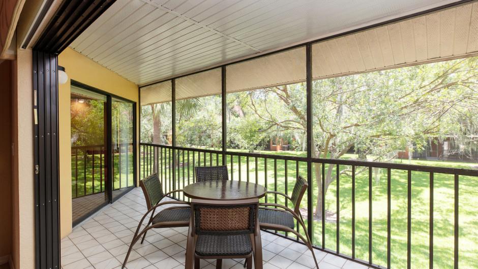 Outdoor Patio Area | Two-Bedroom Villa with Loft | Westgate Vacation Villas Resort | Orlando, FL | Westgate Resorts