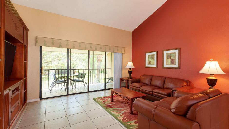 Living Area | Two-Bedroom Villa with Loft Living Area | Westgate Vacation Villas Resort | Orlando, FL | Westgate Resorts