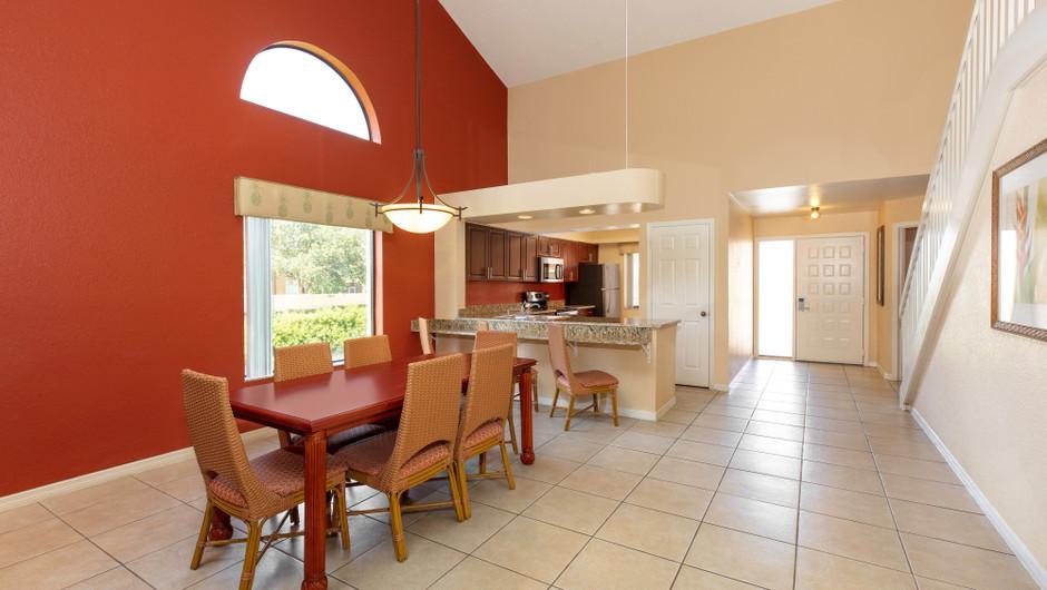 Dining Area | Two-Bedroom Villa with Loft | Westgate Vacation Villas Resort | Orlando, FL | Westgate Resorts