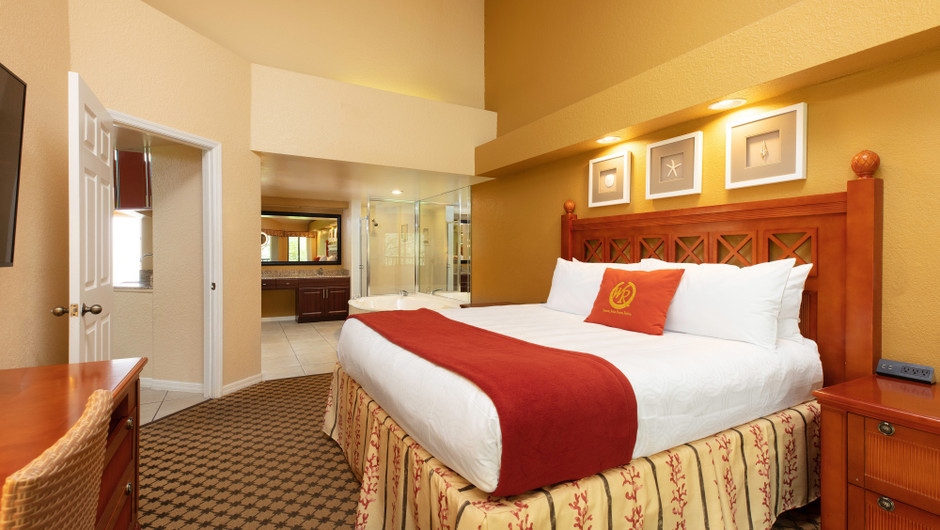 Bedroom/Bathroom | Two-Bedroom Villa with Loft | Westgate Vacation Villas Resort | Orlando, FL | Westgate Resorts