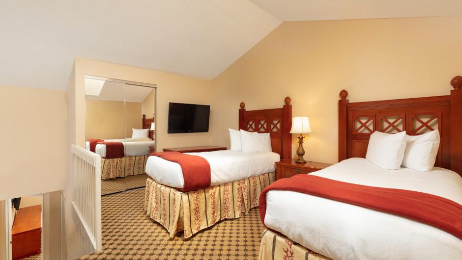 Bedroom | Two-Bedroom Villa with Loft | Westgate Vacation Villas Resort | Orlando, FL | Westgate Resorts