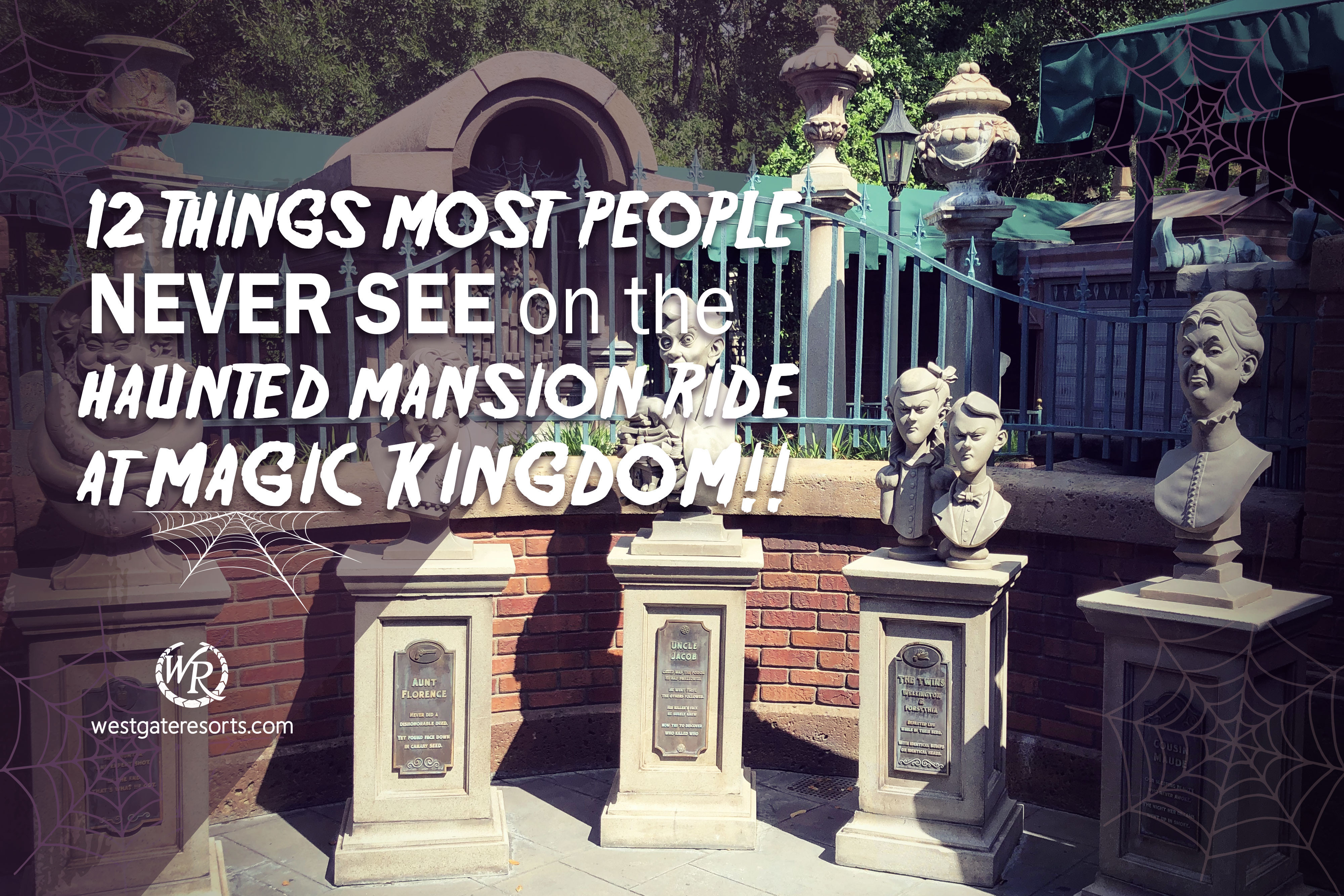 12 Things Most People Never See on The Haunted Mansion Ride at Magic Kingdom!