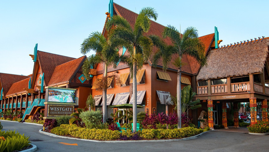 Exterior building of Westgate Cocoa Beach Resort