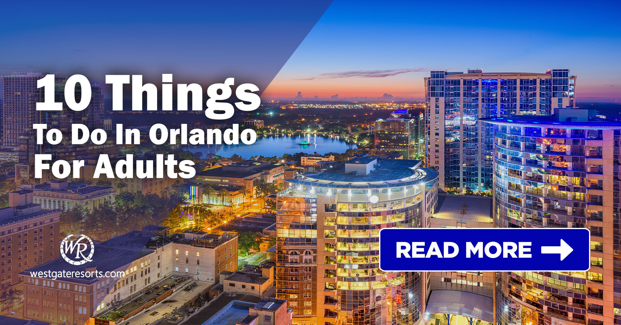 10 Things to do in Orlando for Adults