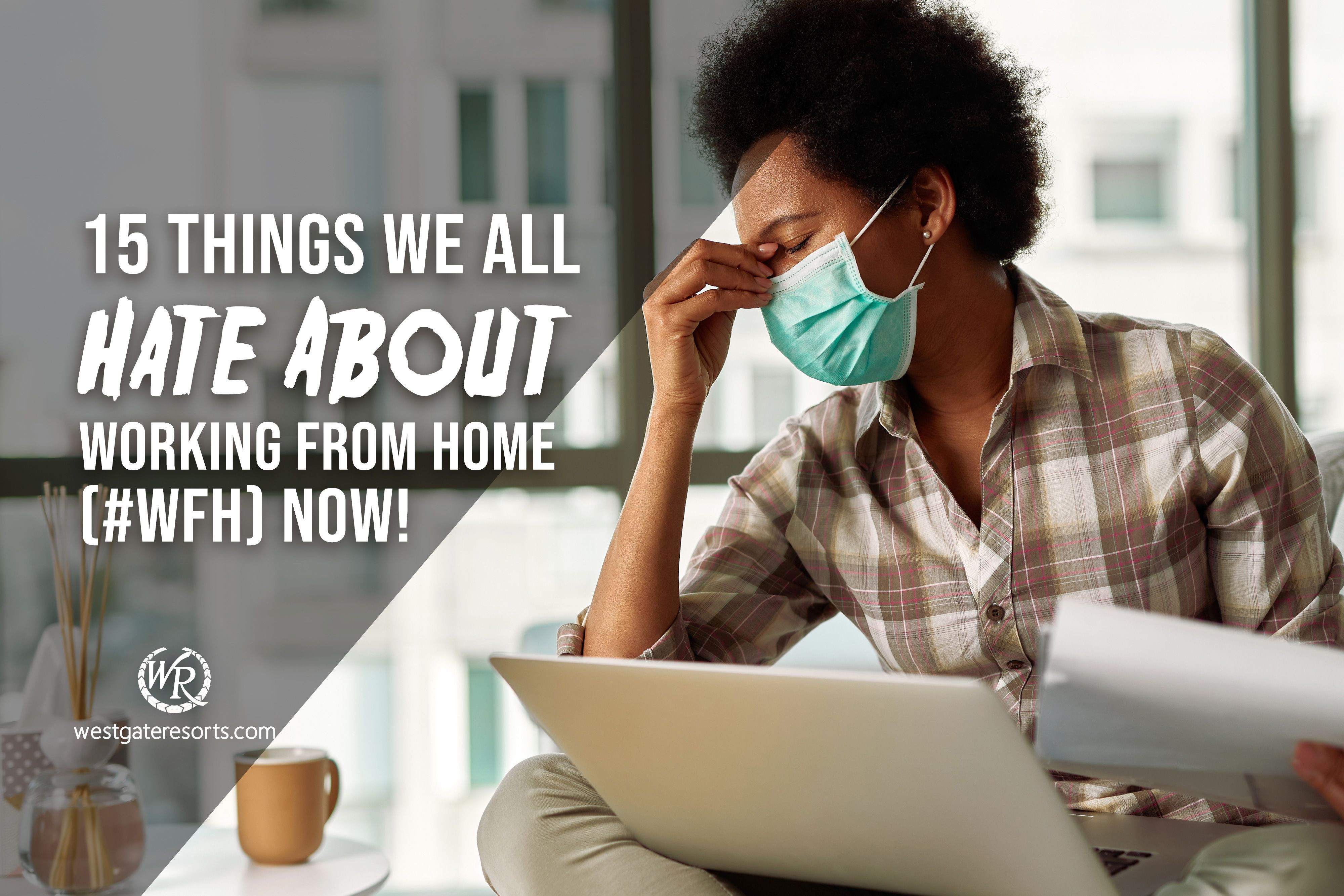 15 Things We All Hate About Working From Home (#WFH) Now!