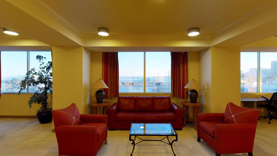 Deluxe one bedroom suite living area | Westgate Las Vegas