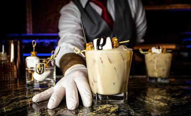 EDGE Steakhouse Las Vegas - World-Class Steakhouse in Las Vegas, Nevada | Bartender Serving Drink