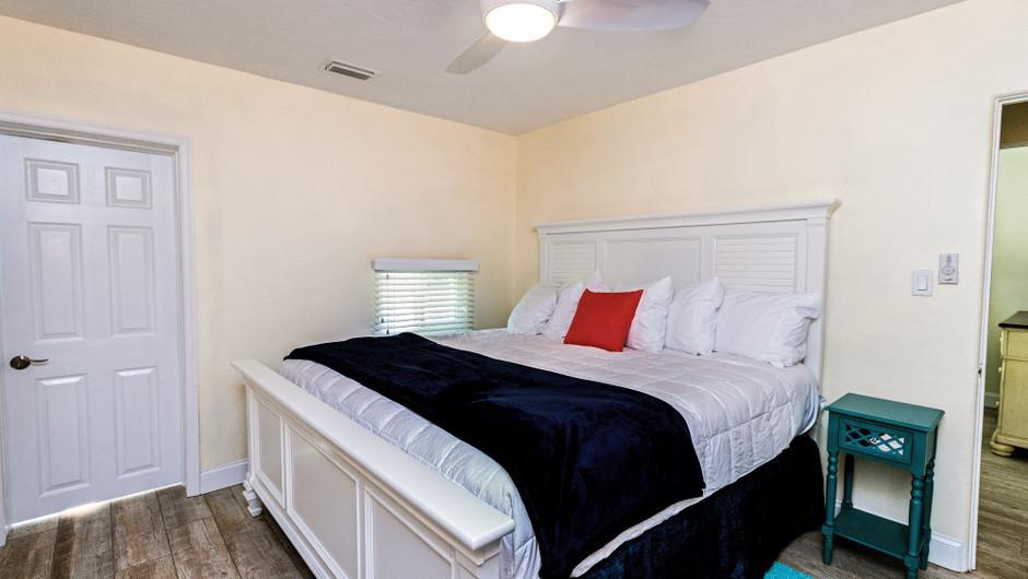 Bedroom in the Ocean Suite - Sea View Inn