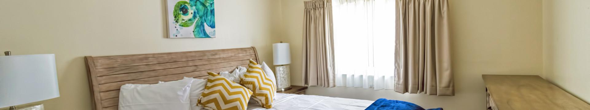 Bedroom in the Mangrove Suite - Sea View Inn