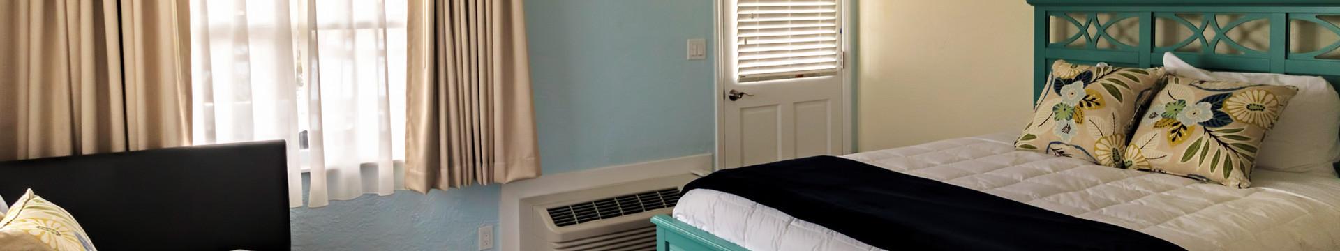 Bedroom in the Sea Grape Suite - Sea View Inn