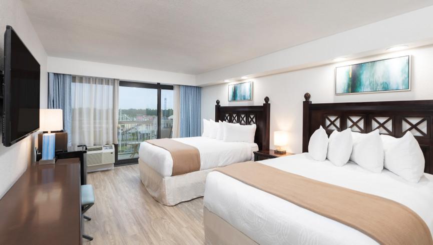 bedroom in the double amusement park view villa - Westgate Myrtle Beach Resort