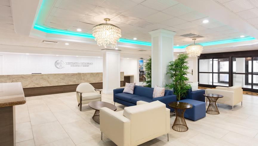 Lobby at Westgate Myrtle Beach Resort