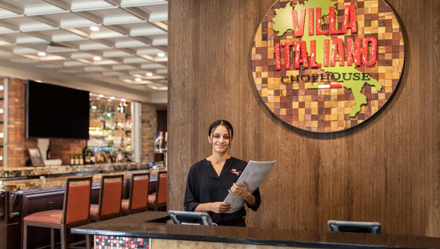 Hostess at Villa Italiano Chophouse - Westgate Vacation Villas Resort