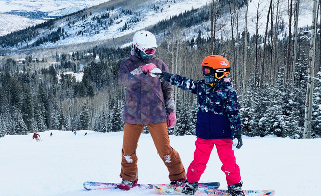 Parent & Child Snowboarding | Westgate Park City Resort
