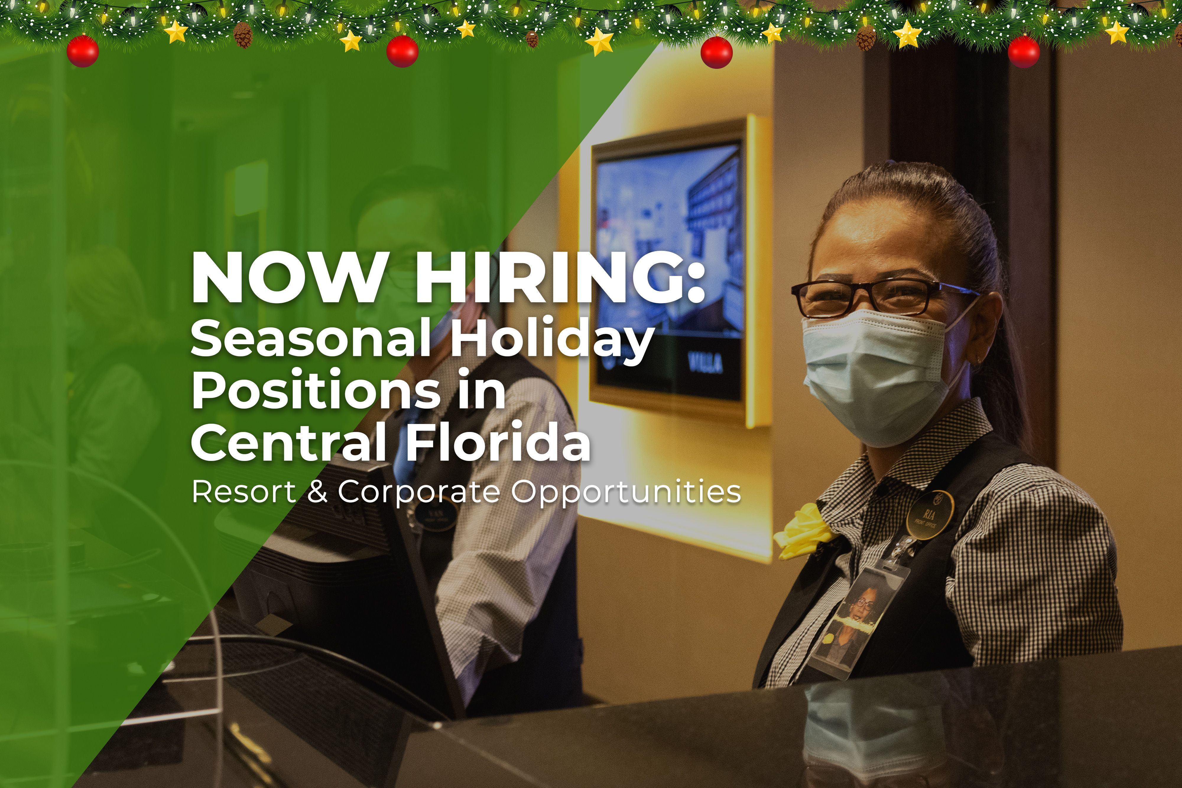 Westgate Resorts to Hire More Than 500 Seasonal Positions for the Upcoming Holiday Season-Westgate Resorts
