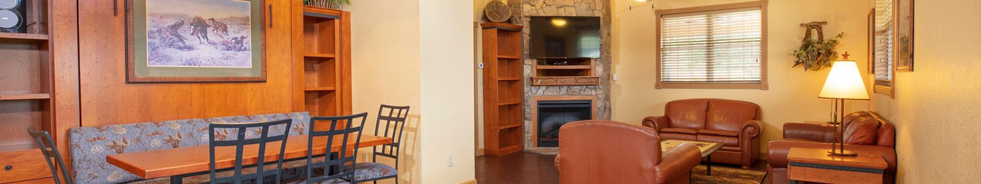 Saddle Club Living Room - Westgate River Ranch