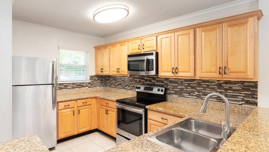 Kitchen in the One Bedroom Villa | Westgate Blue Tree Resort