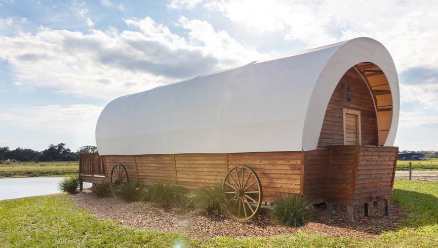 Luxe Conestoga Wagon | Westgate River Ranch Resort