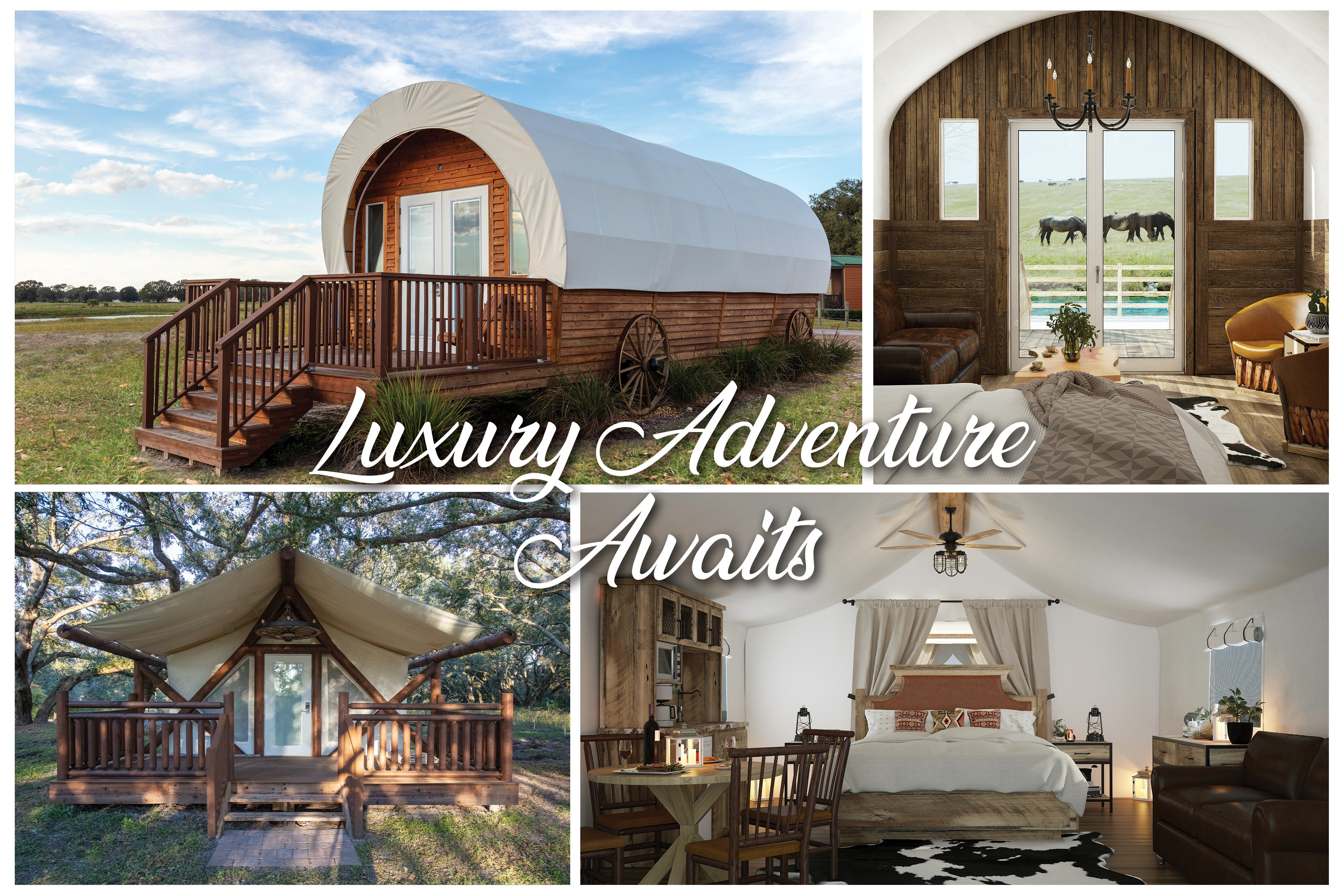 Luxurious Glamping Accommodations - Westgate Resorts