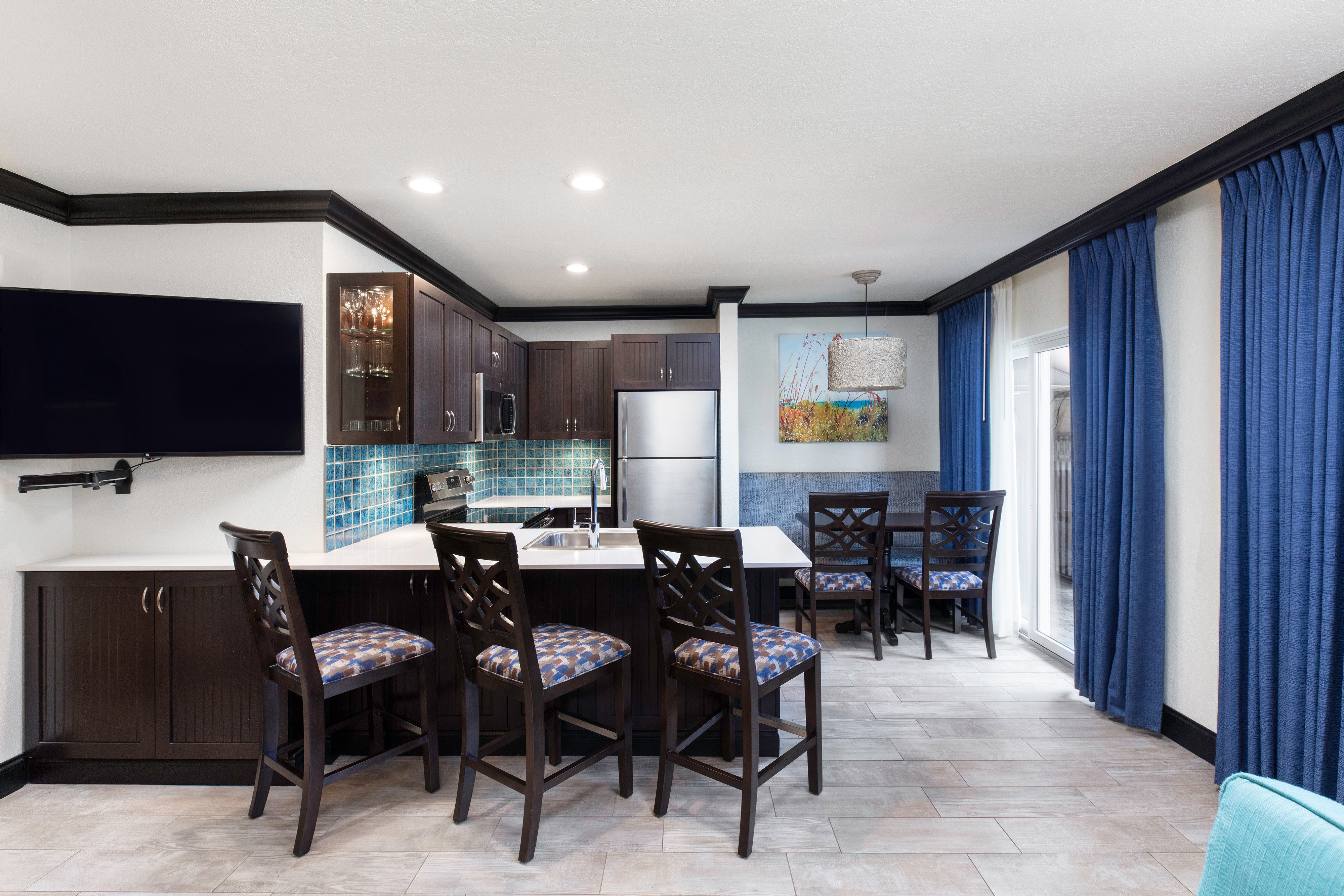 Kitchen And Dining Area In Suite