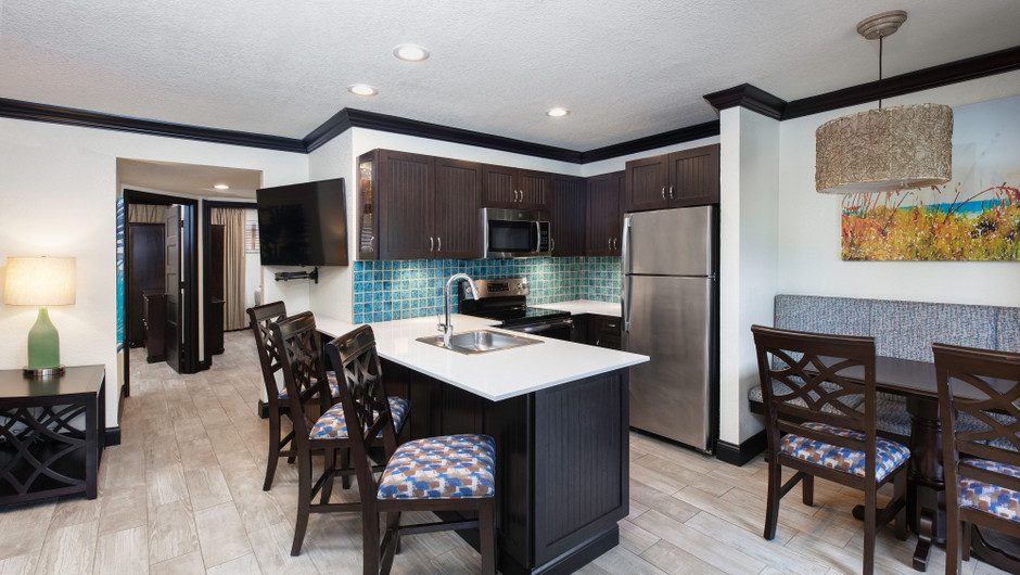 Living Area in a Signature Two Bedroom Suite | Westgate Cocoa Beach Resort | Westgate Resorts