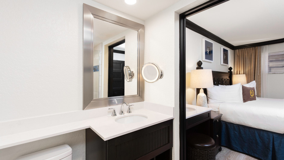 Bathroom in a Signature Two Bedroom Suite | Westgate Cocoa Beach Resort | Westgate Resorts