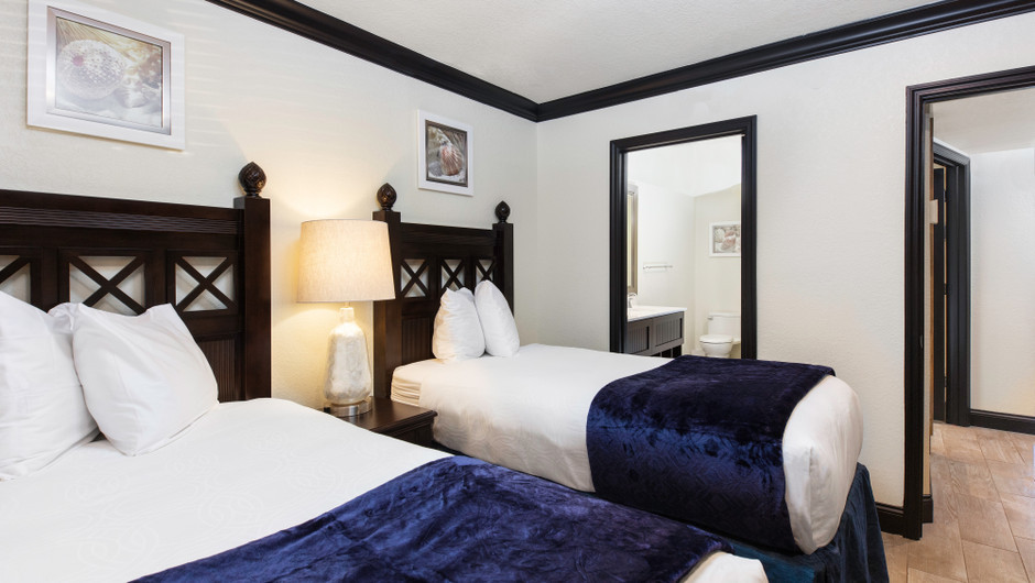 Bedroom in a Signature Four Bedroom Suite | Westgate Cocoa Beach Resort | Westgate Resorts