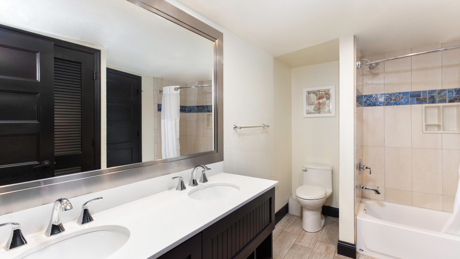 Bathroom in a Signature Four Bedroom Suite | Westgate Cocoa Beach Resort | Westgate Resorts