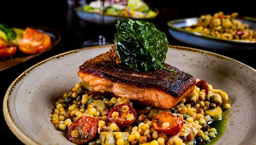 Salmon from Fresco Italiano | Westgate Las Vegas Resort