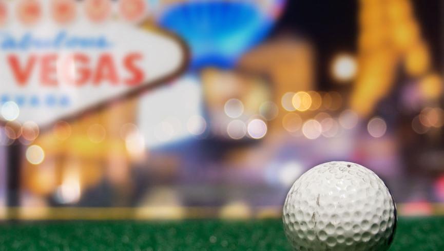 Golfing in Las Vegas