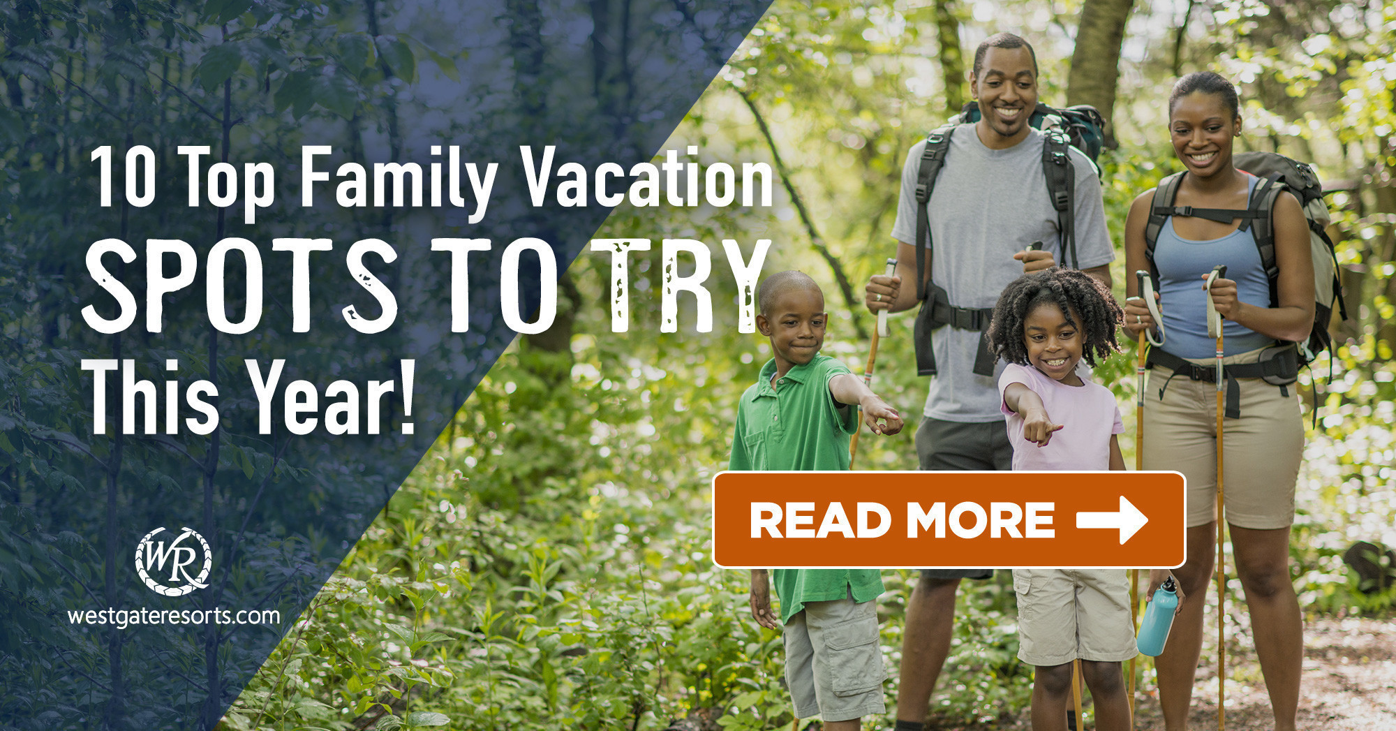 10 Top Family Vacation Spots to Try This Year