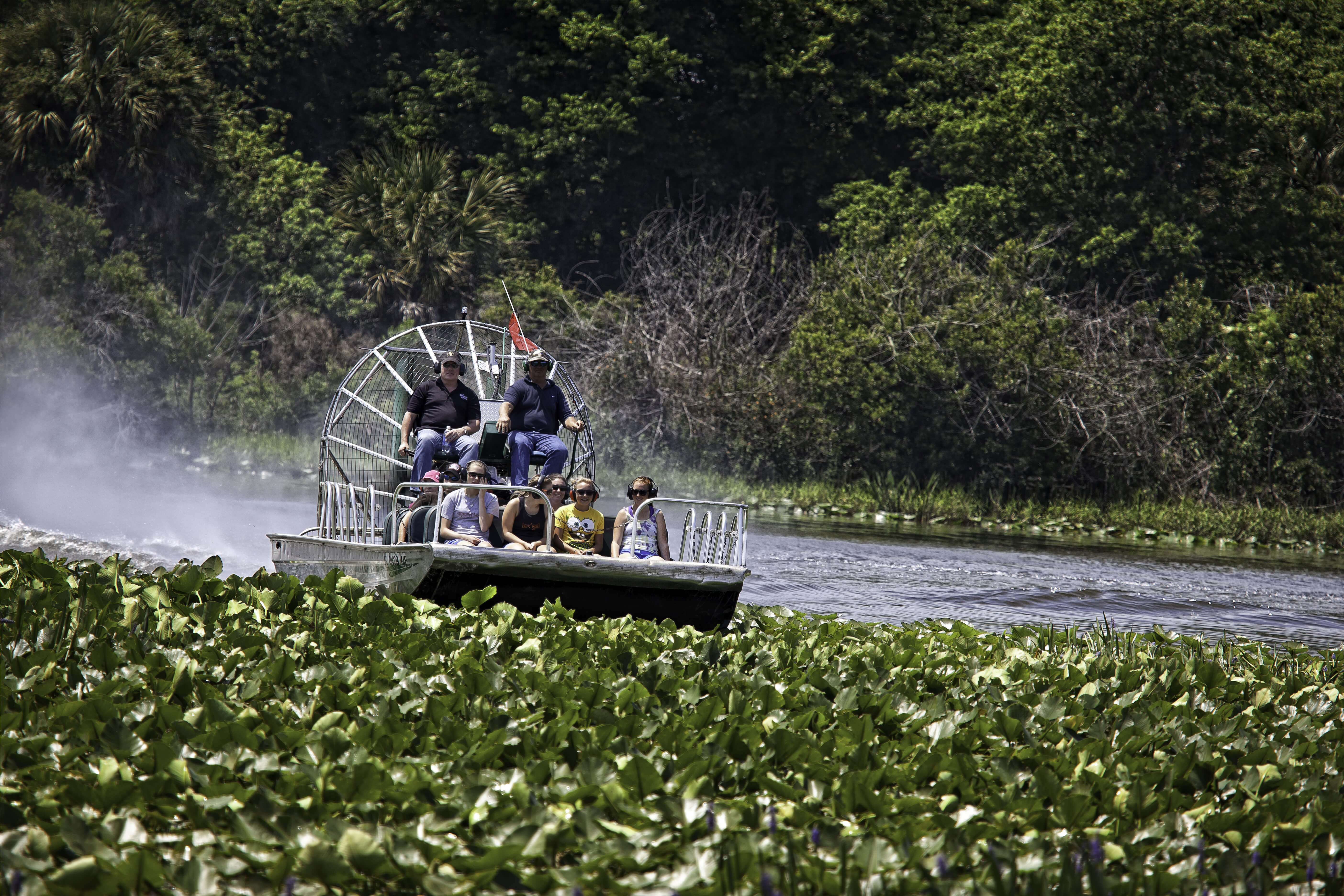 Airboat Ride along the Kissimmee River | Westgate River Ranch Resort & Rodeo | Westgate Resorts