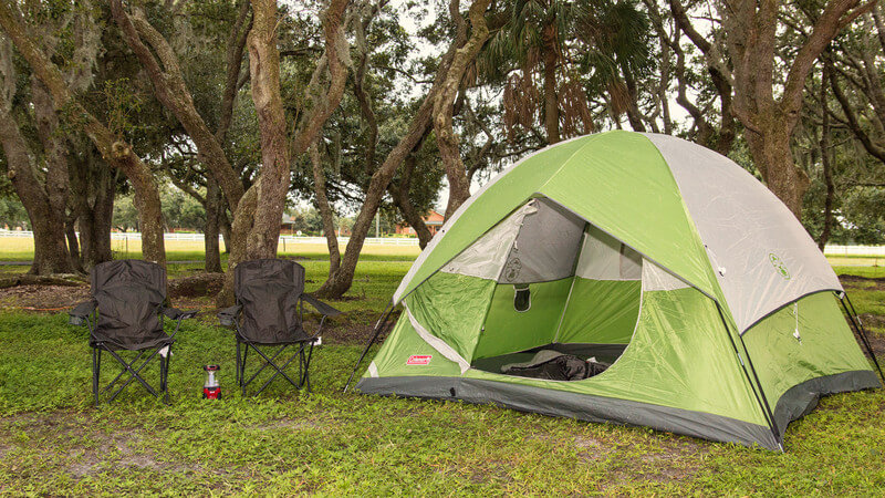 Accommodation Option -tent-camping