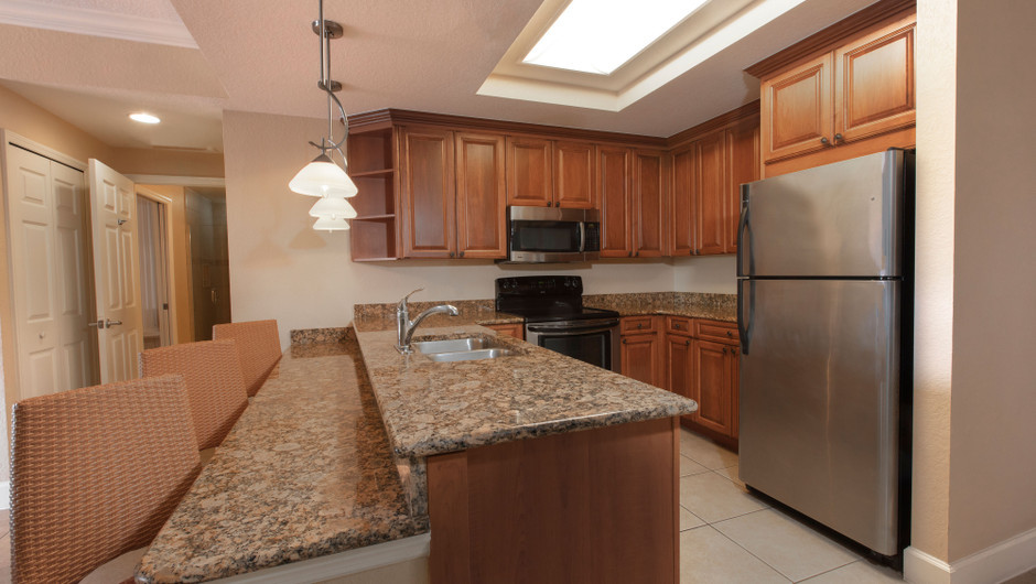 Kitchen in our Four Bedroom Presidential Villa - Westgate Town Center Resort
