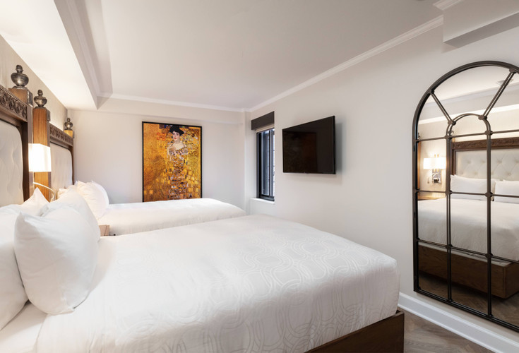 Luxe Two Queen Beds