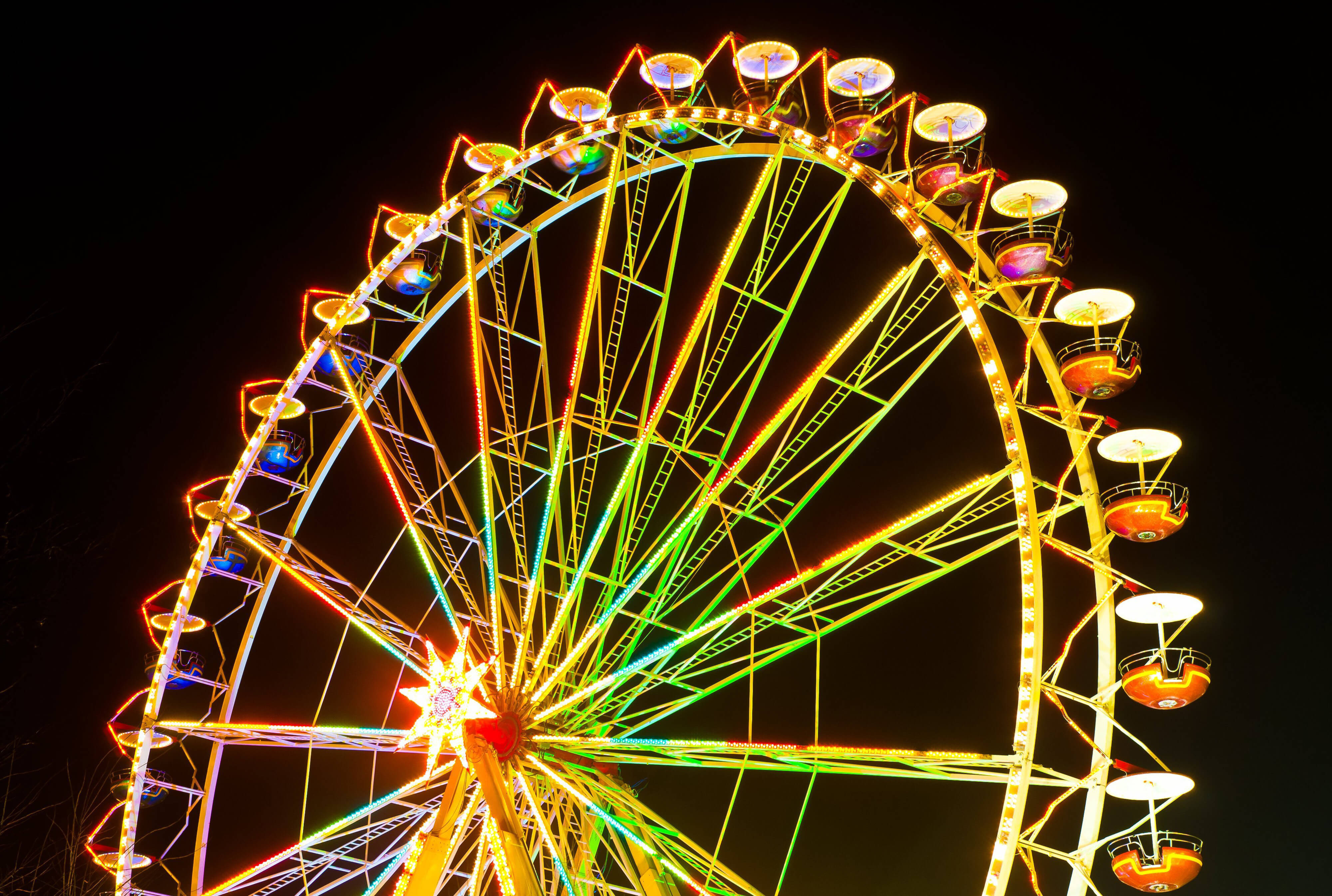 Smoky Mountain Harvest Festival - ferris wheel